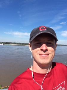 Favorite running place: along the Mississippi