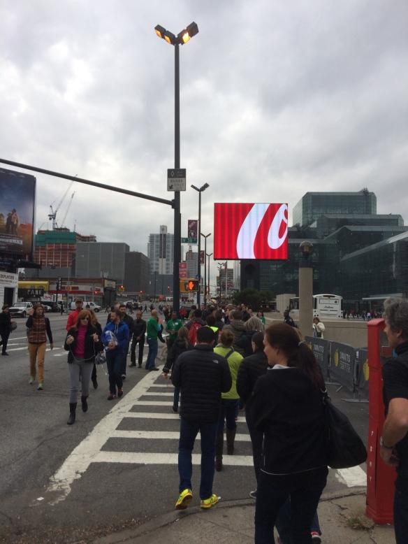 NYC Marathon Expo Line