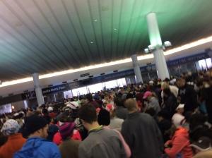 Crazy crowded!